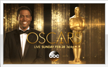 Chris Rock hosting the 2015 Oscar awards